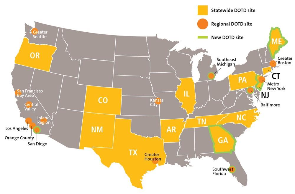 DOTD April 2020 Map
