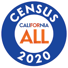 California All Census 2020 logo
