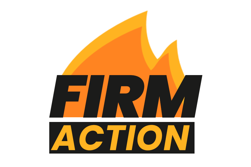 FIRM Action logo, posted to accompany their statement, We Count and We Will Make Our Voices Heard.
