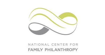 National Center for Family Philanthropy logo, featuring an green and grey infinity symbol above their name. Posted to accompany their post, 6 Ways Family Foundations Can Make a Difference in Immigrant and Refugee Lives.