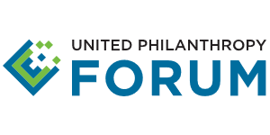 United Philanthropy Forum's logo, posted to accompany their statement, Supreme Court's Census Decision a Win for Democracy.