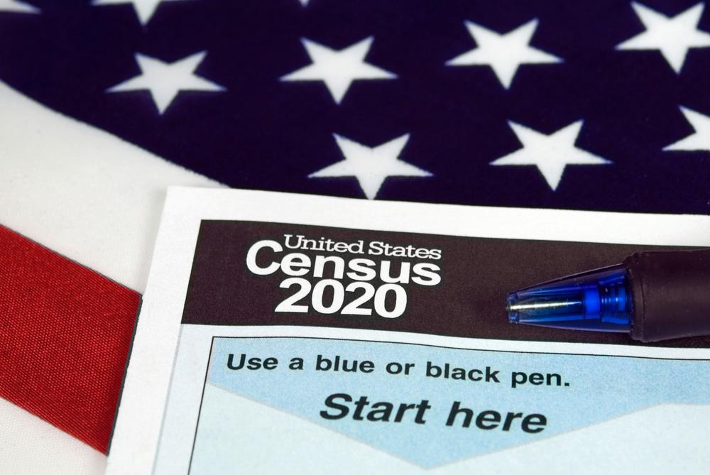Census 2020 form