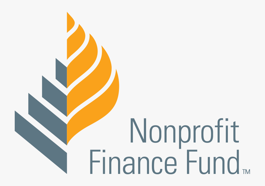 Nonprofit Finance Fund logo, which features a leaf motif to the left of the spelled out name.