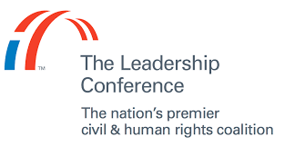 The Leadership Conference logo, posted to accompany their statement, Supreme Court Blocks Addition of Untested Citizenship Question to 2020 Census.