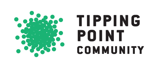 The logo of Tipping Point Community.