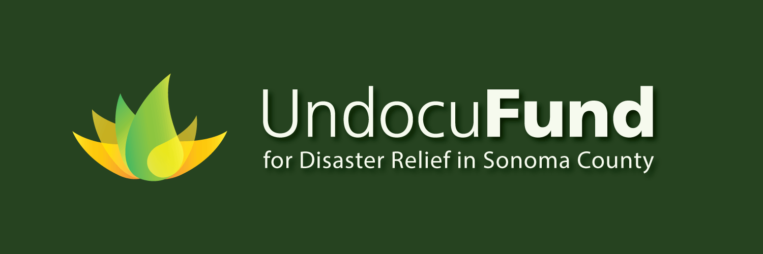 Undocufund for Disaster Relief in Sonoma County logo