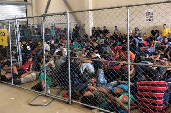 "Flickr: Thomas Cizauskas/""CrimesAgainstHumanity""; Immigrants in Detention"