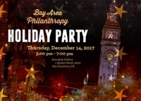 Bay Area Philanthropy Holiday Party