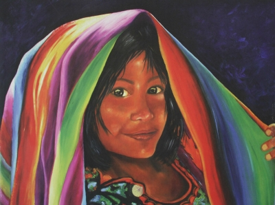 girl-under-flag-painting-creative-commons