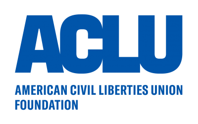 ACLU logo, posted to accompany their statement, ACLU Comment on Supreme Court Census Citizenship Case Victory.
