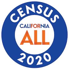 California All Census 2020 logo