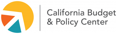 The California Budget & Policy Center logo, which features its name to the right of a circle in yellow, red, and blue-green, which is segmented into three parts like a pie chart by lines that look like an arrow pointing upwards. Posted with the blog post, Expanding the CalEITC Is an Effective Way to Invest in California's Children, But Hundreds of Thousands of Children of Immigrants Won't Benefit Unless Policymakers Act.