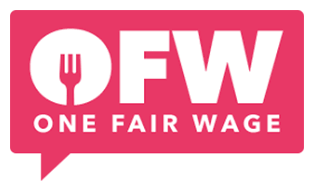 One Fair Wage logo