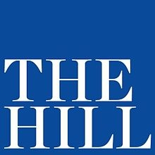 The Hill logo, which features their name spelled out in white letters on a blue square background. Posted to accompany the opinion article, Immigrant women aren't getting access to health care due to fears.
