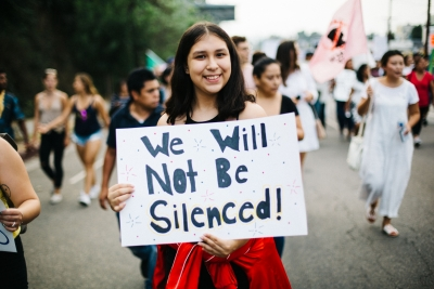 "DACA ""We Will Not Be Silenced"""