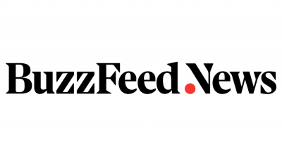 "The BuzzFeed News logo, posted to accompany their story, Inside The Massive, Coordinated Push To Make Sure A Census Citizenship Question Does Not ""Distort Democracy"""