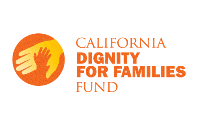 Logo for the California Dignity for Families Fund