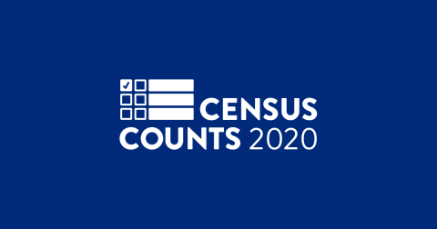 Census Counts 2020 logo
